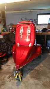 2002 factory built fiberglass motorcycle trailer Windsor Region Ontario image 3