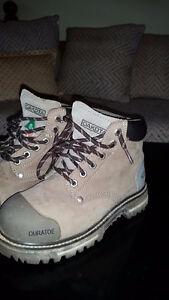 Women's Steel Toe Work Boots, size 6.5