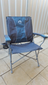 "Spinifex ""Strongback"" camping chair."