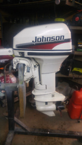 2005 9.9 johnson 2 stroke