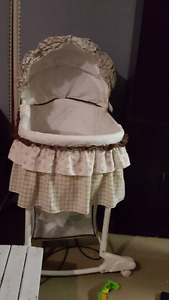 Baby swing, carseat,  bassinet and play mat