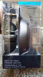 Pkg of 2 men's belts Cambridge Kitchener Area image 2