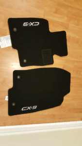 Mazda CX9 Front Row Floor Mats - Brand New
