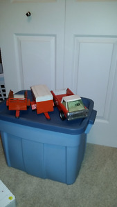 Collector toy trucks