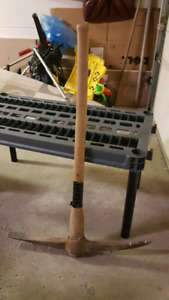 Pick Axe, Snow Shovels, Garden Edger, Rake