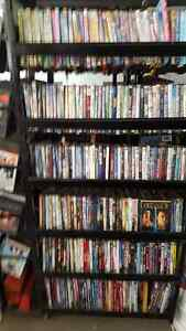 800 DVDS AND LARGE 4' X 6' DISPLAY