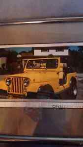 LOOKING FOR DAD'S JEEP