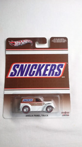 HOT WHEELS SNICKERS ANGLIA PANEL TRUCK DIECAST MINT