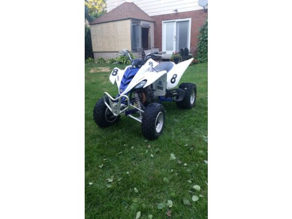 Used 2007 Yamaha Raptor 350 special edition