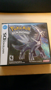 Pokemon diamond with game case