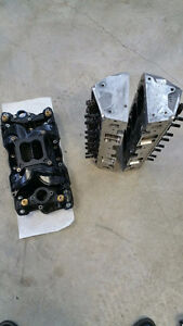 AFR 210cc CNC'd heads, port matched AFR Titan Composite Manifold