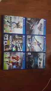 Ps4 games for sale 15$