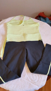 Size small lululemon outfit