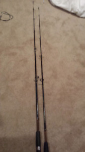 2x ugly stick fishing rods