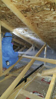 Spray Foam? Losse fill? Fireproof? Thermal? You need it? We have