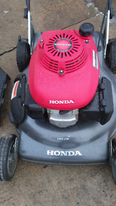 Tondeuse HONDA HRS2162PDC Lawnmower 6HP GCV160 Motor