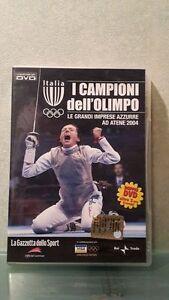 DOPPIO-DVD-I-CAMPIONI-DELL-039-OLIMPO-LE-GRANDI-IMPRESE-AZZURRE-AD-ATENE-2004