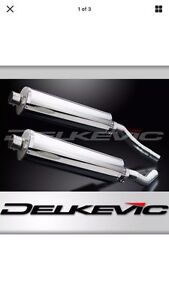 Brand new Delkevic exhaust for Honda ST1300