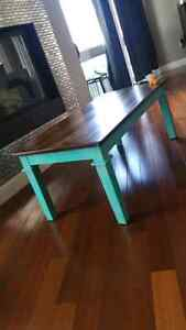 Solid wood accent table or coffee table