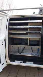 HVAC interior and ladder rack for sale West Island Greater Montréal image 4