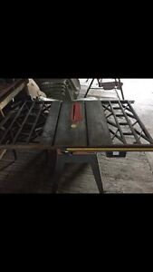"""Craftsman 10"""" Table Saw with cast iron top"""