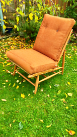 Vintage Ercol Blonde Floating Chair Midcentury Great Conditon