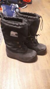 Snowshoeing Boots / Mountain Boots / Sorel Glacier XT