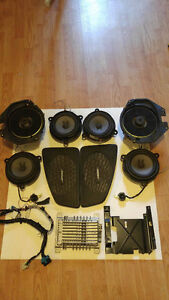 Bose 9 piece system The Ultimate in-car Sound system Speakers