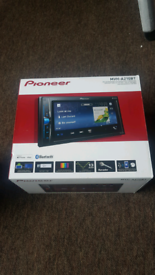 Pioneer double din touch screen radio