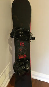K2 Vandal Snowboard 137 cm with Flow Alpha bindings