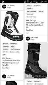 FXR MTN snowmobiling boots