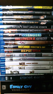 Bluray / DVD / Box Sets $2-$15 / $125 For All