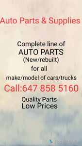 AUTO PARTS FOR ALL YOUR CAR NEEDS