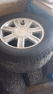 Tires and rims fit my chev 1500
