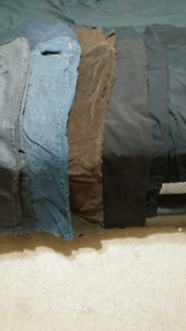 6 pairs extra large maternity pants