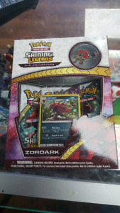 Pokemon shining legends zoroark collection