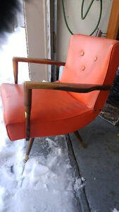 awesome mid century swivel and rocking chair