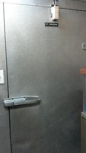 walk-in fridge