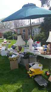 Mother's day special yard sale