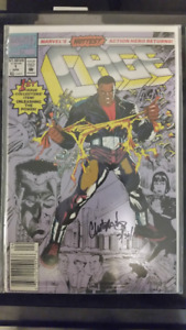 Signed/Autographed Comics of Cage and Shadowhawk III...