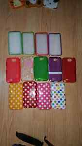 Samsung galaxy Note 2 cases - 13 cases- ruber cases