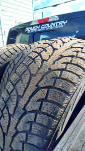 275/65R18 Hankook I'pike winter tires