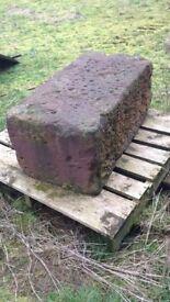 Red sandstone x2