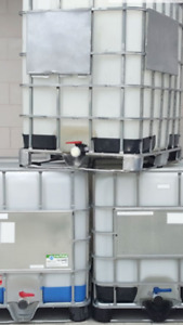 Totes food drinking safe ibc 275 gallon 1000 litre water tank