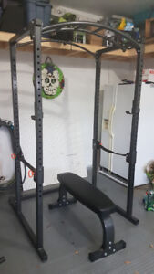 Northern Lights Power Rack + Bench