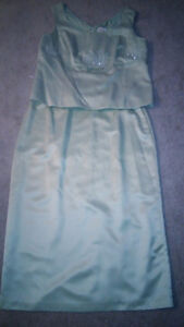 Beautiful Mint green mother of the bride/groom dress London Ontario image 2