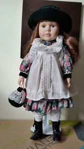 Collectible porcelain doll (1990's)