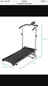 Manual treadmill pro fitness