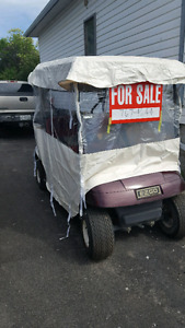 REDUCED 2002 ELECTRIC EZ-GO GOLF CART