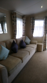 Static caravan sleeps 8